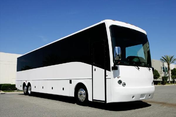 50 passenger charter bus rental Hoover